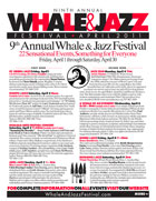 Ninth Annual Whale & Jazz Festival program