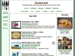 Gualala Arts events page 2006