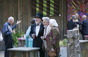 Art in the Redwoods Top Hat Dinner, photo credit: Barbara Pratt, 2008
