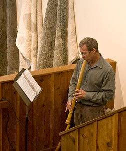 Karl Young on shakuhachi