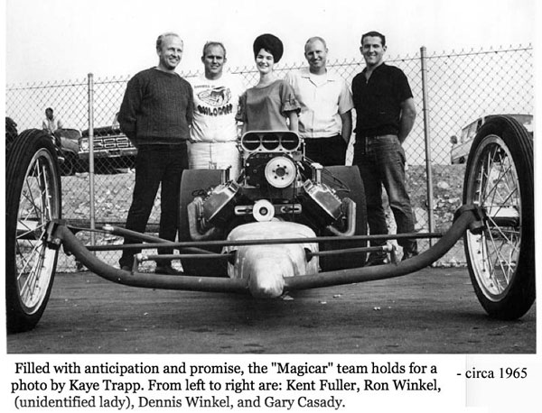 Magicar Team, circa 1965