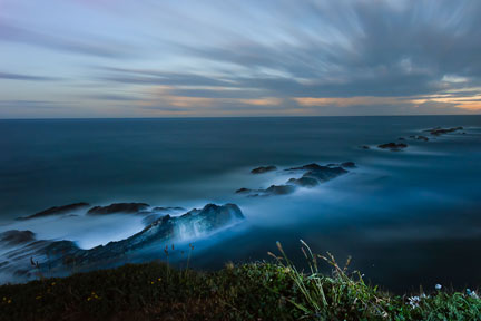 Point Arena Reef Nocturne, © 2012 Kathryn Hile