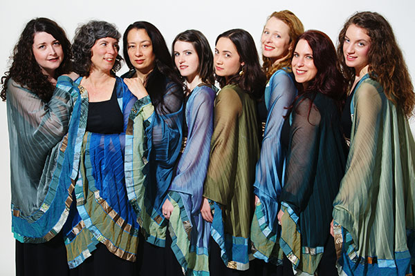 Kitka Women's Vocal Ensemble; photo by Peter Ellenby